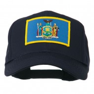 State of New York Embroidered Patch Cap - Navy