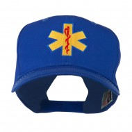 Star of Life Embroidered Cap - Royal