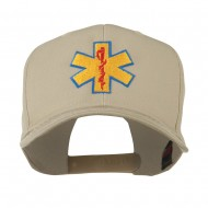 Star of Life Embroidered Cap - Khaki