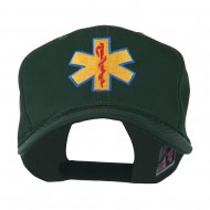 Star of Life Embroidered Cap - Green