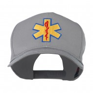 Star of Life Embroidered Cap - Grey