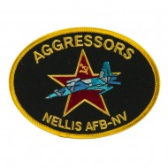 Other Military Large Patch - Black Aggressors