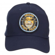 Oregon State Police Patched Cap - Navy