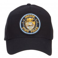 Oregon State Police Patched Cap - Black
