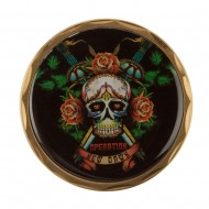 Operation Coin - Black OND Skull With Roses