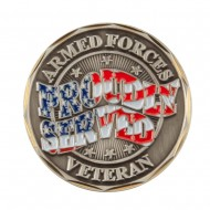 Proud To Be U.S. Army Coin (3) - Served