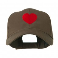 Party Heart Logo Embroidery Cap - Brown