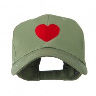 Party Heart Logo Embroidery Cap - Olive