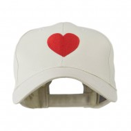 Party Heart Logo Embroidery Cap - Stone