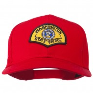 Washington State Patrol Patched Cap - Red