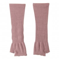 Women's Ribbed Design Arm Warmer - Pink