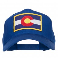 Colorado State Flag Patched Cap - Royal