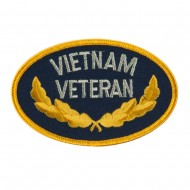 Retired Embroidered Military Patch - Vietnam Veteran