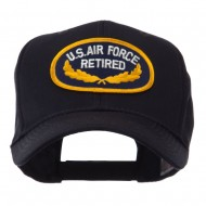 Retired Embroidered Military Patch Cap - Air Force