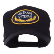 Retired Embroidered Military Patch Cap - Vietnam Veteran