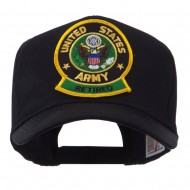 Retired Embroidered Military Patch Cap - Army Retired