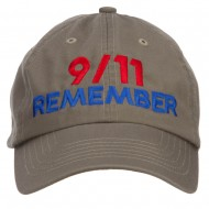 911 Remembered Embroidered Low Profile Cap - Olive