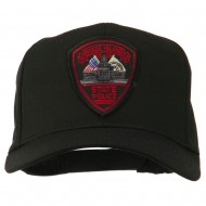 Rhode Island State Police Patched Cap - Black