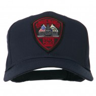 Rhode Island State Police Patched Cap - Navy