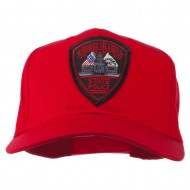 Rhode Island State Police Patched Cap - Red