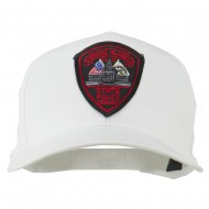 Rhode Island State Police Patched Cap - White