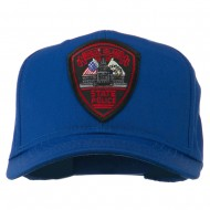 Rhode Island State Police Patched Cap - Royal