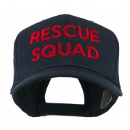 Rescue Squad Embroidered Cap - Navy