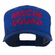 Rescue Squad Embroidered Cap - Royal