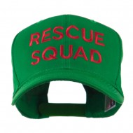 Rescue Squad Embroidered Cap - Kelly Green