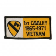 Army Rectangle Embroidered Military Patch - 1st Cav