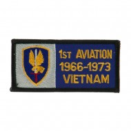 Army Rectangle Embroidered Military Patch - Aviation
