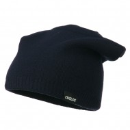 Men's Reversible Slouchy Beanie - Navy