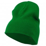 Big Size Superior Cotton Short Knit Beanie-Kelly