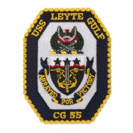 Scalloped Edge USS Patches - USS Leyte Gulf