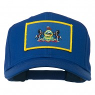 State of Pennsylvania Embroidered Patch Cap - Royal