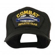 Special Forces Military Large Patched Cap - Combat Infantryman