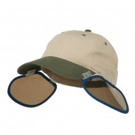 UV Clip On Shade Panel for Hats (Panel Only) - Navy