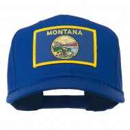 Montana State High Profile Patch Cap - Royal