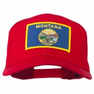 Montana State High Profile Patch Cap - Red