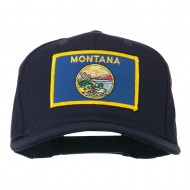 Montana State High Profile Patch Cap - Navy