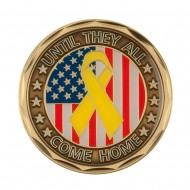 Support Our Troops Coin - Bronze Come Home