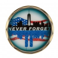 Support Our Troops Coin - Silver 911