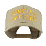 Special Officer Embroidered Cap - Khaki