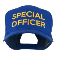 Special Officer Embroidered Cap - Royal