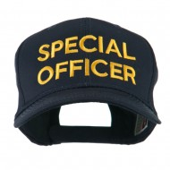 Special Officer Embroidered Cap - Navy