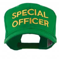 Special Officer Embroidered Cap - Kelly Green
