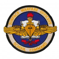 Navy School Patches - Surface Warfare Officers