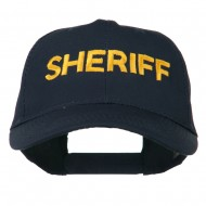Sheriff Embroidered Low Profile Cap - Navy
