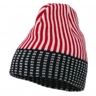 USA Stars and Stripes Beanie - Red