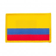 South America Flag Embroidered Patches - Colombia